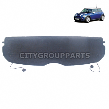 BMW MINI R50 R53 ONE COOPER S D 2001 TO 06 REAR PARCEL SHELF BOOT LUGGAGE COVER